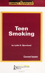 Cover of: Teen smoking | Lydia D. Bjornlund