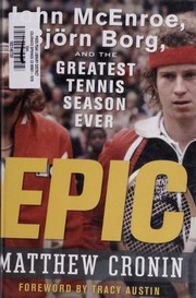 Cover of: Epic | Matthew Cronin