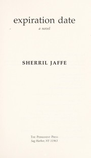 Cover of: Expiration date | Sherril Jaffe