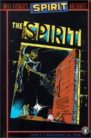 Cover of: The Spirit Archives, Vol. 1: June 2 - December 29, 1940