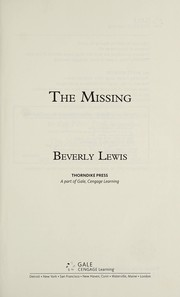 Cover of: The missing