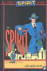 Cover of: The Spirit Archives, Vol. 2: January 5 - June 29, 1941