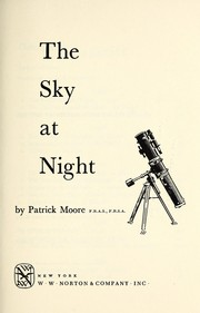 Cover of: The sky at night
