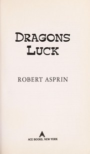 Cover of: Dragons luck