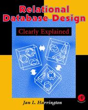 Cover of: Relational database design clearly explained