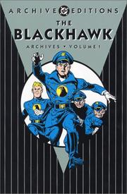 Cover of: The Blackhawk archives. |