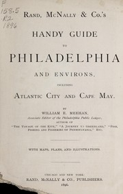 Cover of: Rand, McNally and Co.'s handy guide to Philadelphia and environs
