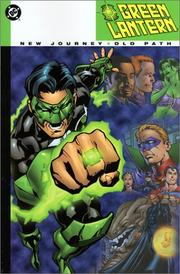 Cover of: Green lantern: new journey, old path
