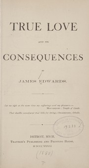 Cover of: True love and its consequences |
