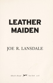 Cover of: Leather maiden