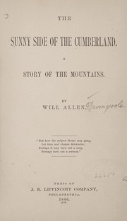 Cover of: The sunny side of the Cumberland