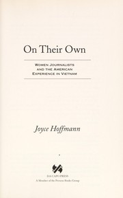 Cover of: On their own | Joyce Hoffmann