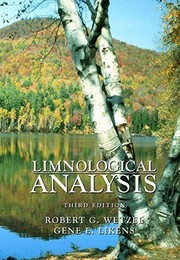 Cover of: Limnological analyses