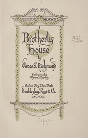 Cover of: Brotherly house