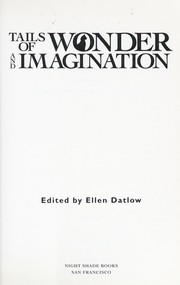 Cover of: Tails of wonder and imagination