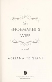 Cover of: The shoemaker's wife