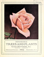 Cover of: Dependable trees and plants | Glen Brothers