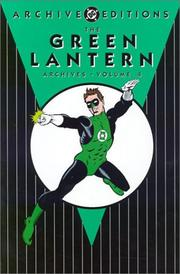 Cover of: The Green Lantern archives | Broome, John.