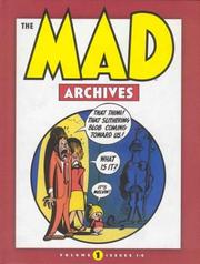 Cover of: The Mad Archives, Vol. 1
