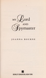 Cover of: My lord and spymaster