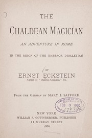 Cover of: The Chaldean magician