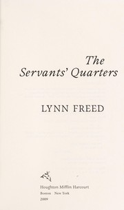 Cover of: The servants' quarters