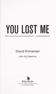 Cover of: You lost me