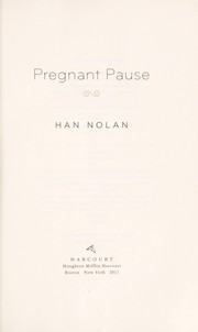 Cover of: Pregnant pause