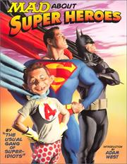 Cover of: Mad about super heroes