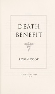 Cover of: Death benefit