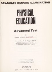 Cover of: Physical education, advanced test |