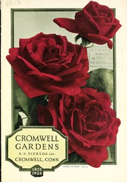 Cover of: Cromwell Gardens [catalog] | A.N. Pierson, Inc