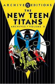 Cover of: New Teen Titans archives