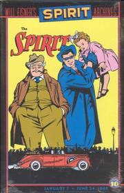 Cover of: The Spirit Archives, Volume 10