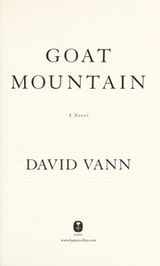 Cover of: Goat Mountain