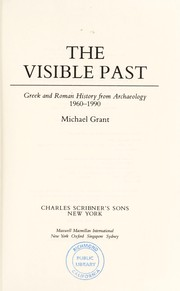 Cover of: The visible past