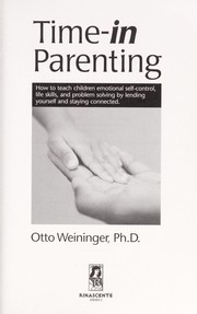 Cover of: Time-in parenting