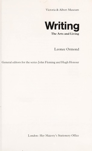 Writing by Leonée Ormond