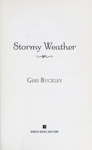 Cover of: Stormy weather | Geri Buckley