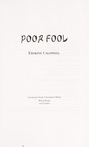 Cover of: Poor fool