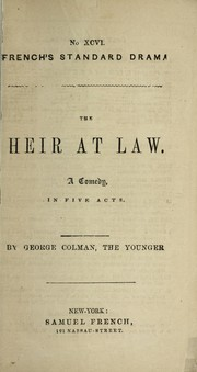 Cover of: The heir at law