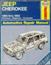 Cover of: Jeep Cherokee & Comanche: automotive repair manual