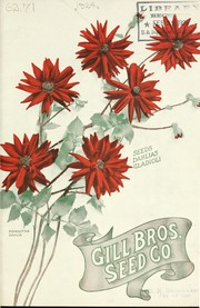 Cover of: Seeds, dahlias, gladioli