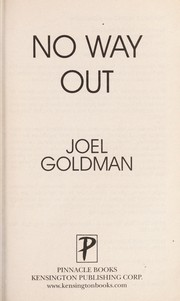 Cover of: No way out | Joel Goldman