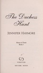 The duchess hunt