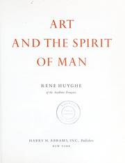 Cover of: Art and the spirit of man