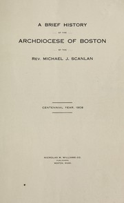 A brief history of the Archdiocese of Boston