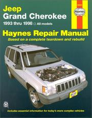 Cover of: Jeep Grand Cherokee automotive repair manual | John Harold Haynes