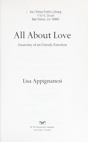 Cover of: All about love
