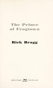 Cover of: The prince of Frogtown